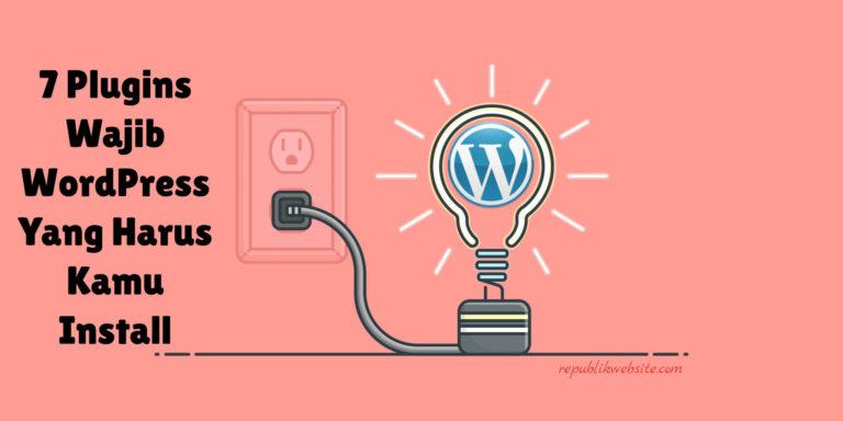 plugin wajib wordpress