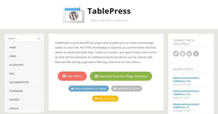 plugin-tablepress-untuk-wordpress
