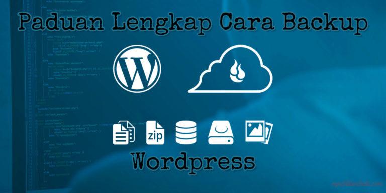 tutorial backup wordpress